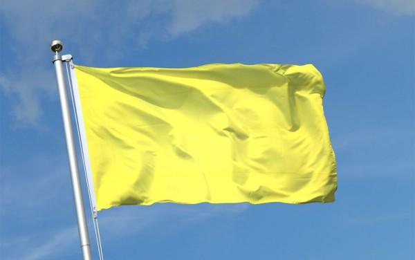 Em julho, bandeira amarela
