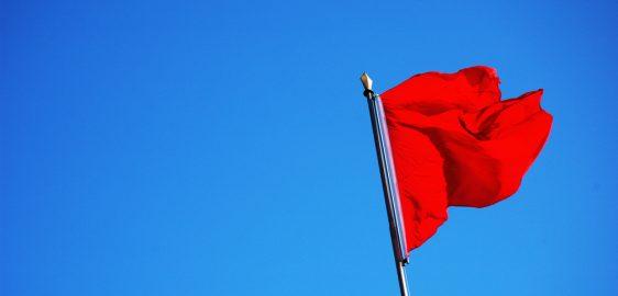 Bandeira para junho é vermelha patamar 2