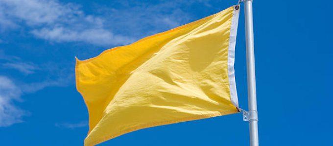 Bandeira tarifária será amarela em Janeiro