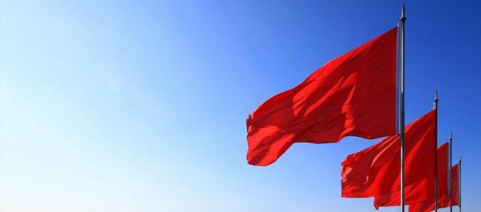 Bandeira em setembro permanece vermelha patamar 1