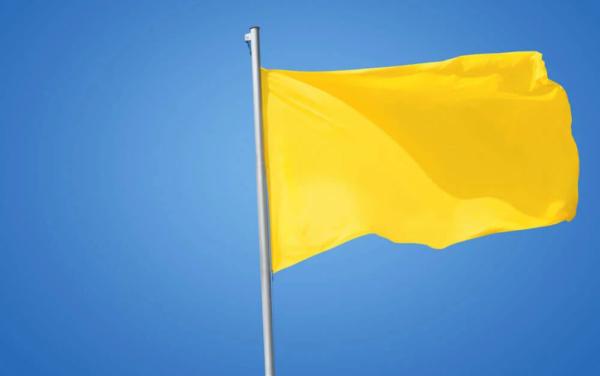 Bandeira tarifária acionada para março é amarela